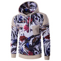 HD-DST 2017 design  new men's fashion printing hoodies causal slim fit sweatshirt cotton long sleeve tops