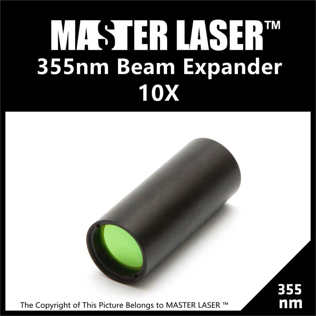 10 Times 355nm UV Bex-355-10x  UV Laser Galvanometer System Laser Marking Lenses and Optics Beam Expand Laser Expander  цены