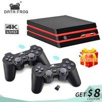Игровая консоль с 2,4G беспроводной контроллер HDMI видео игровая консоль 600 классические игры для GBA семья ТВ Ретро игра