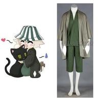 2016 Bleach Urahara Kisuke Cosplay Kimono Cosplay Green Mens Bleach Cosplay Costume
