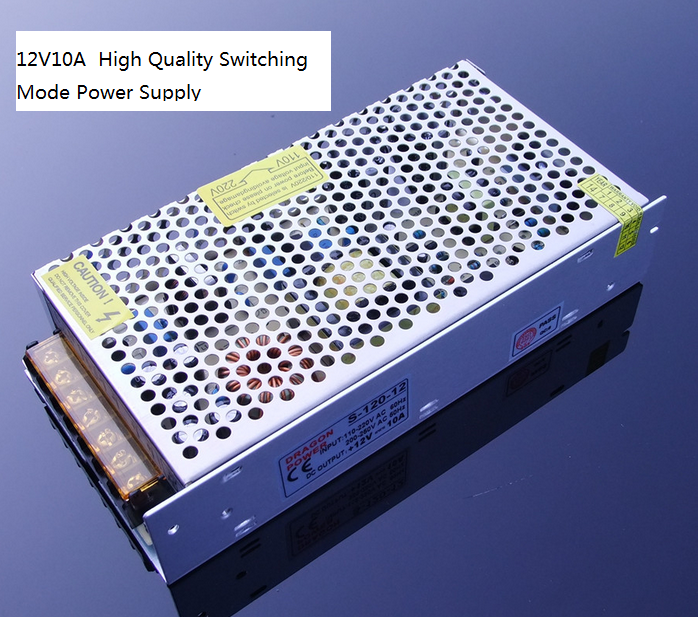 цена на Output 10A 12V Switching Power Supply Transformer High Power DC Power Supply DIY Tools Free Shipping Russia