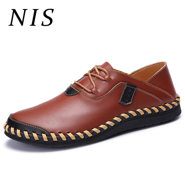 quality design 66bac 21442 NIS-Breathable-Cow-Leather-Flat-Shoes -Men-Hand-Sewing-Soft-Sole-Moccasins-Oxfords-Casual-Summer-Driving.jpg 640x640.jpg