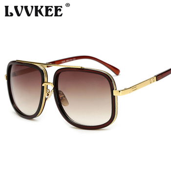 Classic Oversized Men Sunglasses Luxury Brand Women mach one Sun Glasses Square retro Oculos de sol Male UV400 Mirror Eyewear