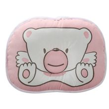 ABWE Best Sale  Baby Sleep Bear Positioner Infant Support Soft Pillow, Pink