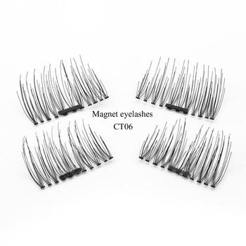 Shozy шт/пара 3D 0,2 мм Магнитная ресницы расширение Красота макияж аксессуары мягкие волосы ресницы накладные ресницы -CT 1