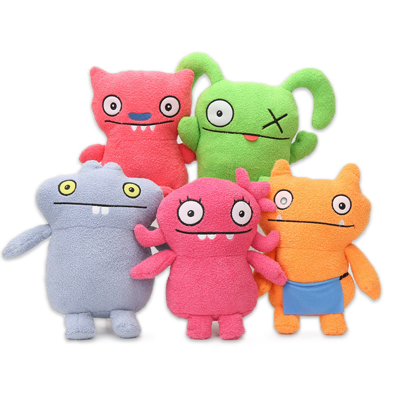 15cm Ugly Dolls Toys Tutulu Ox BABO WAGE LUCKY BAT Plush Doll Fairy Moxy Ugly Dog Ice-Bat Soft Stuffed Animal Toy Uglydolls