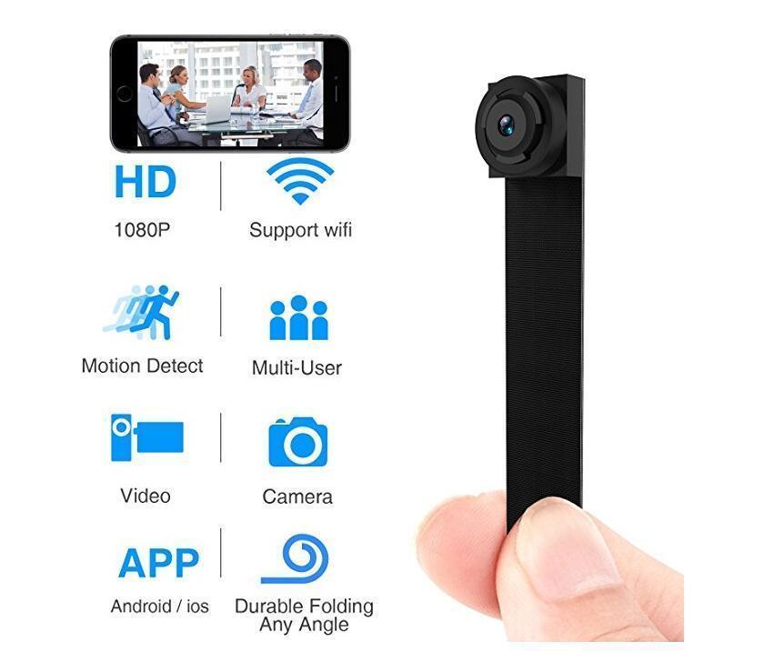 Senza fili WIFI Modulare Mini Wifi Cam Flessibile Segreto Piccola Macchina Fotografica 1080 p Minicamera Camaras Espia Video Recorder Videocamera Digitale