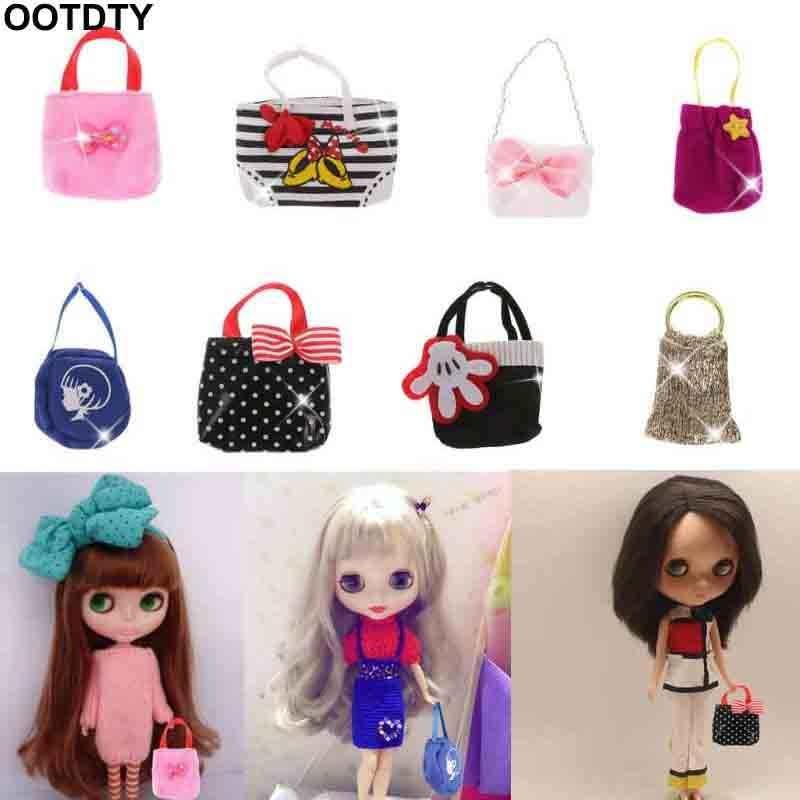 Mini bolso hecho a mano apto para muñecas BJD Blyth AZ Licca Pullip