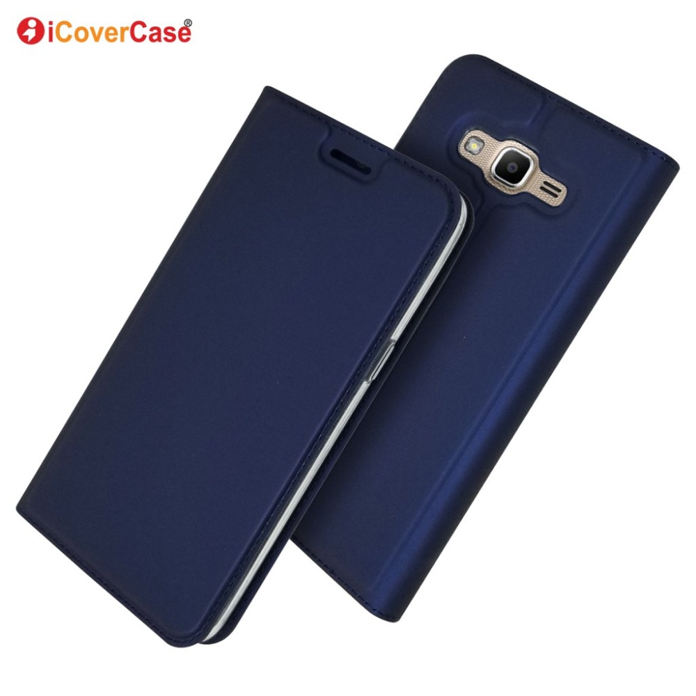 Case Cover Prime Samsung Galaxy G532-Case Magnetic For J2 Ultra-Thin Wallet Flip-Stand