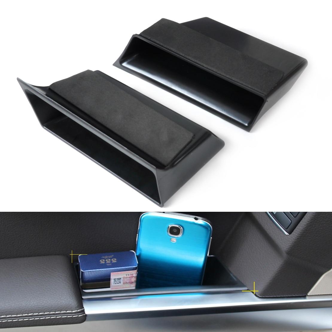 CITALL Nova caixa de Armazenamento Caixa de apoio de Braço Da Porta Dianteira Para Mercedes-Benz GLK Classe X204 GLK300 GLK350 GLK250 2009 2010 2011 2012 2013 2014