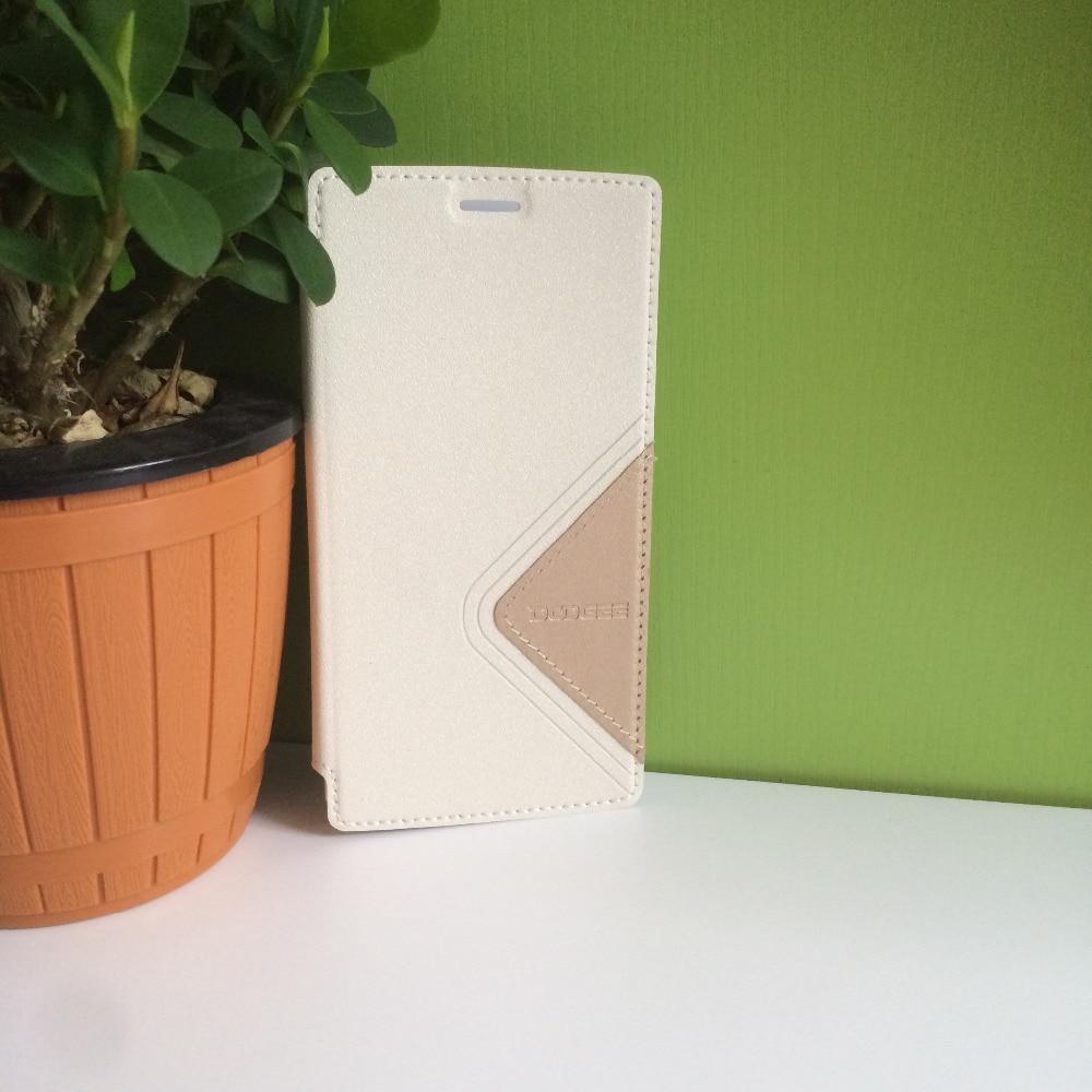 DOOGEE X5 MAX Kaca Tempered + Pelindung Kulit Kasus Flip Kasus Asli - Aksesori dan suku cadang ponsel - Foto 4