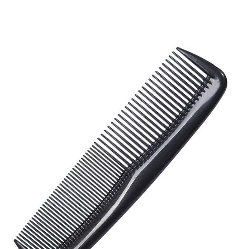 3 Pcs/lot Anti-static Hair Brushes Mini Double Side Combs Pro Beard Comb Salon Styling Tools Shower Massage Comb Salon  4