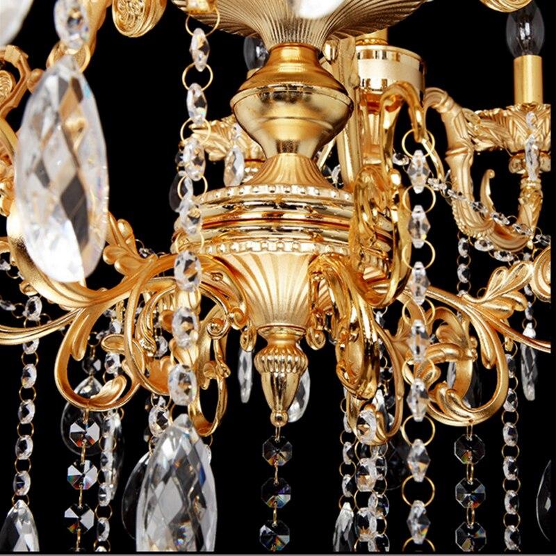 Doppelschicht Kronleuchter Halle Modernen Hotel Kronleuchter Kristall  Treppe Licht Antike Bronze Kronleuchter Französisch Gold Kronleuchter In  Doppelschicht ...