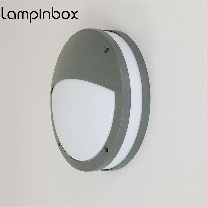 Outdoor Wall light LED Dust proof LED  12W Ceiling Lights IP65 Waterproof Insect Mosquito Wall Garden Lights Wall Lights LP87