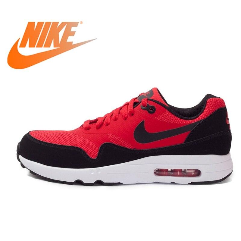 Официальный оригинальный NIKE дышащая AIR MAX 1 ULTRA 2,0 ESSENTIAL для мужчин's кроссовки спортивная обувь прогулочная классический прочный