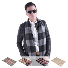 HOT SALE New 15 Colors Cashmere Men s tassel British winter scarves and autumn scarf men