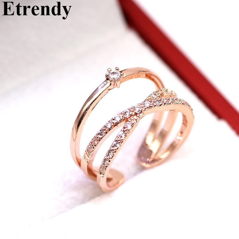Women 39 s Fashion Rings Multi Layers Big Statement Ring Adjustable Jewelry in Rings from Jewelry amp Accessories
