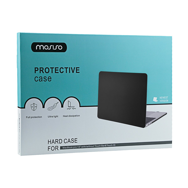 Image 5 - MOSISO чехол для ноутбука Macbook Pro 13 15 Touch Bar A1706 A1707 A1708 A1989 A1990 матовый ноутбука крышка для Mac Book 13,3 дюймовый корпус-in Сумки и чехлы для ноутбука from Компьютер и офис