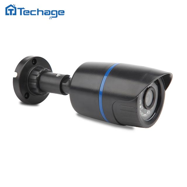 1200tvl techage mini cámara 1280*720 p 1.0mp ip onvif 2.0 impermeable al aire libre p2p ir-cut visión nocturna cctv de vigilancia de seguridad