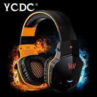 B3505 Sport Headband Bluetooth 4 1 Wireless Stereo Gaming Headset Mic Call Orange Black Blue White