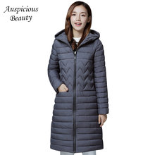 2018 Brand Women Winter Jackets With Hooded Long Coats Female Women s Parka Warm Slim Casual