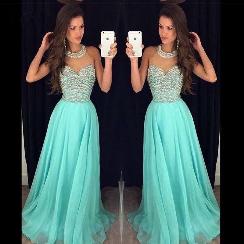 Resultado de imagen para vestidos de gala color aqua