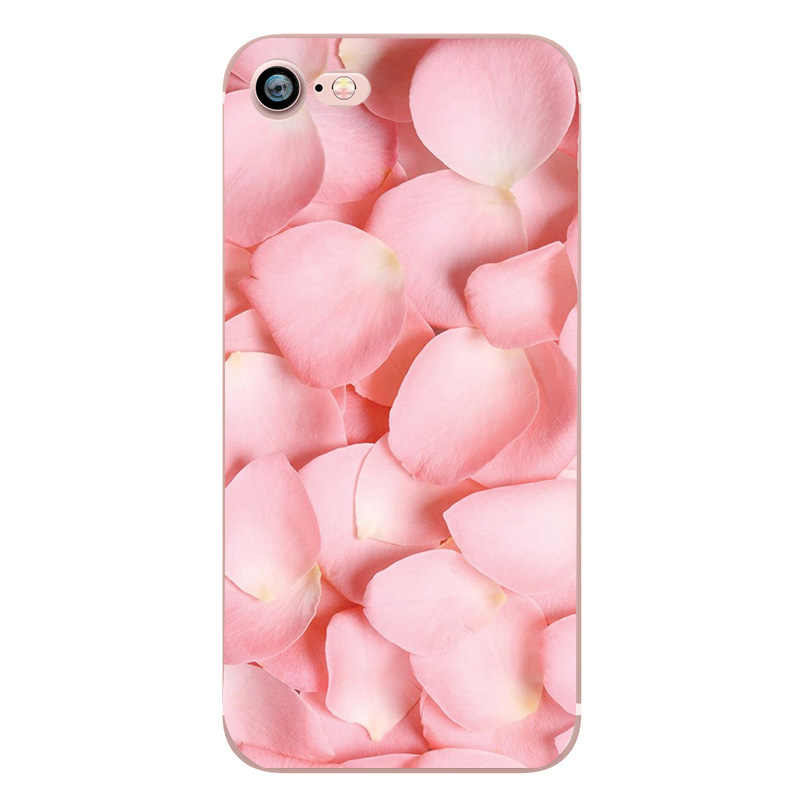 Capas para iphone 6 6 s 8 plus x 5se 5 5S macio amor coração telefone silicone tpu capa fundas para iphone 7 mais casos telefone acessórios