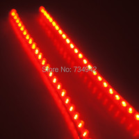 38 Inch Waterproof Flexible Grill LED Strip Motorcycle Car Lights With 96 LEDs