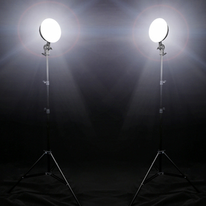 Image 5 - GSKAIWEN 写真スタジオ LED 照明キット調整可能な光は三脚写真とビデオ補助光