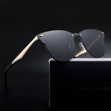 Aluminium Classic Retro Sunglasses Men Women Brand Designer UV400 ladies Sun Gla