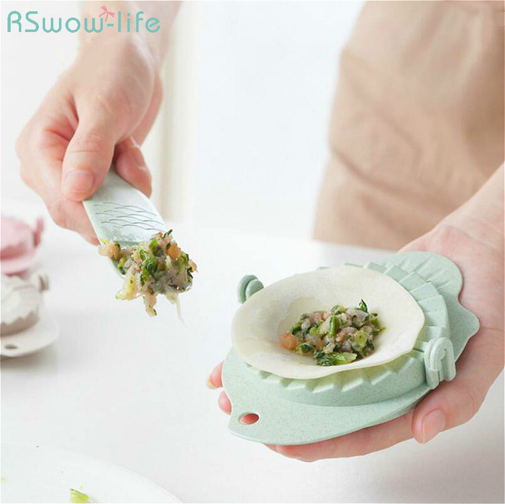 2 Pcs Dumpling Tool Can Be Used To Kitchen Dumplings Mold For Home Kitchen Supplies Small Mold in Kitchen Gadget Sets from Home Garden