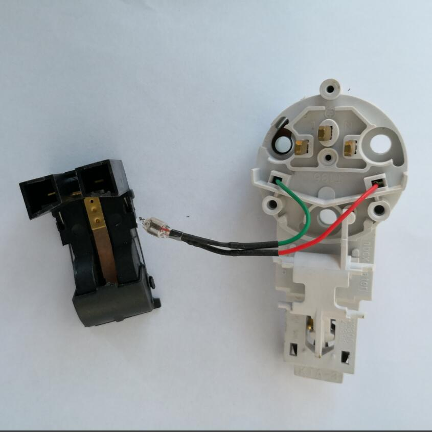 Electric Kettle Parts coupler switch with double rows legs цена