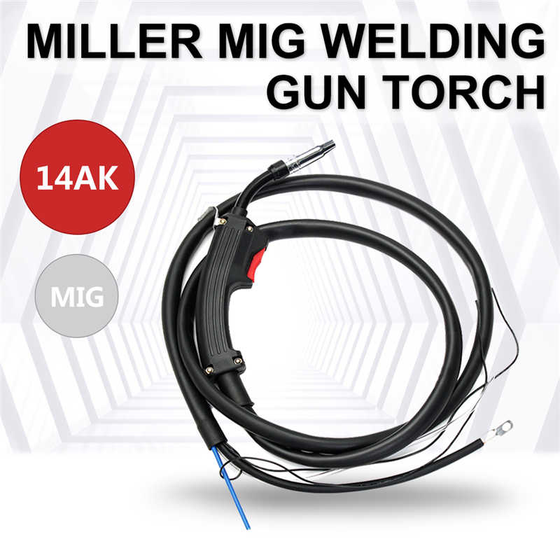 все цены на Electric Welder Complete Replacement Spare Part Mig Torch 14AK 2M Welding Gun Parts Stinger