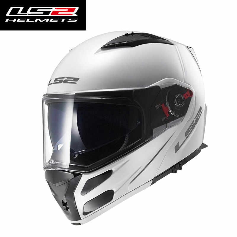 69ae8eca5ce ... LS2 FF324 full face motorcycle helmet double sun shield lens modular motorbike  racing helmet ECE approve ...