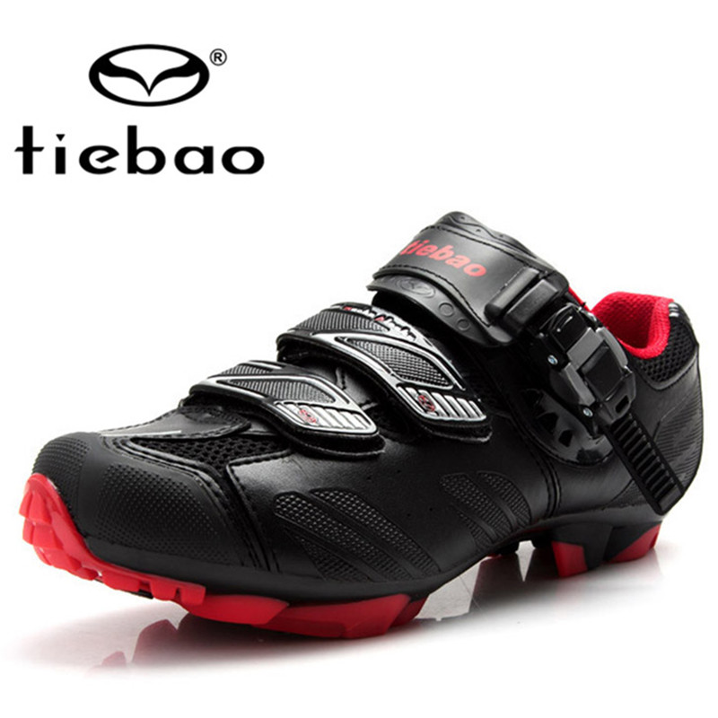 Tiebao Professional MTB Cycling Shoes Nylon-fibreglass Sole Breathable Bicycle Mountain Bike Shoes Men Women Self-locking Shoes women s cycling shorts cycling mountain bike cycling equipment female spring autumn breathable wicking silicone skirt