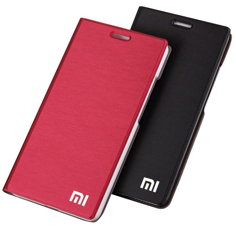 HOT! Xiaomi RedMi 4 4 pro 4A 4X 3 3S 3X S Stand flip Case PU Leather Cover Original Xiaomi RedMi 4pro Pro Prime hard Shell CASES(China)