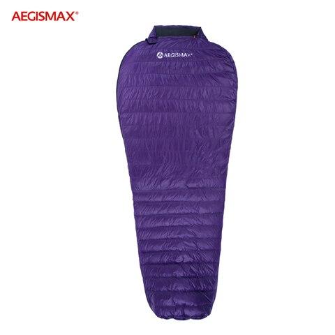 aegismax ultra seco ganso branco para baixo sacos de dormir mummy ultraleve caminhadas camping 700