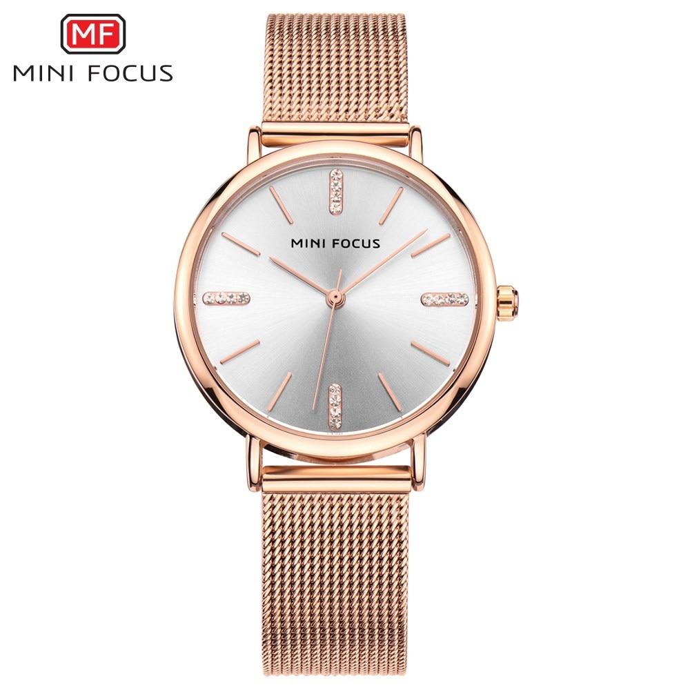 c3c911ebe31 MINI FOCO Novo 2018 Vestido Top Fashion Mulheres Relógios Famosa Marca  Senhoras Relógio de Quartzo Relógio Feminino Montre Femme Relogio feminino  em ...