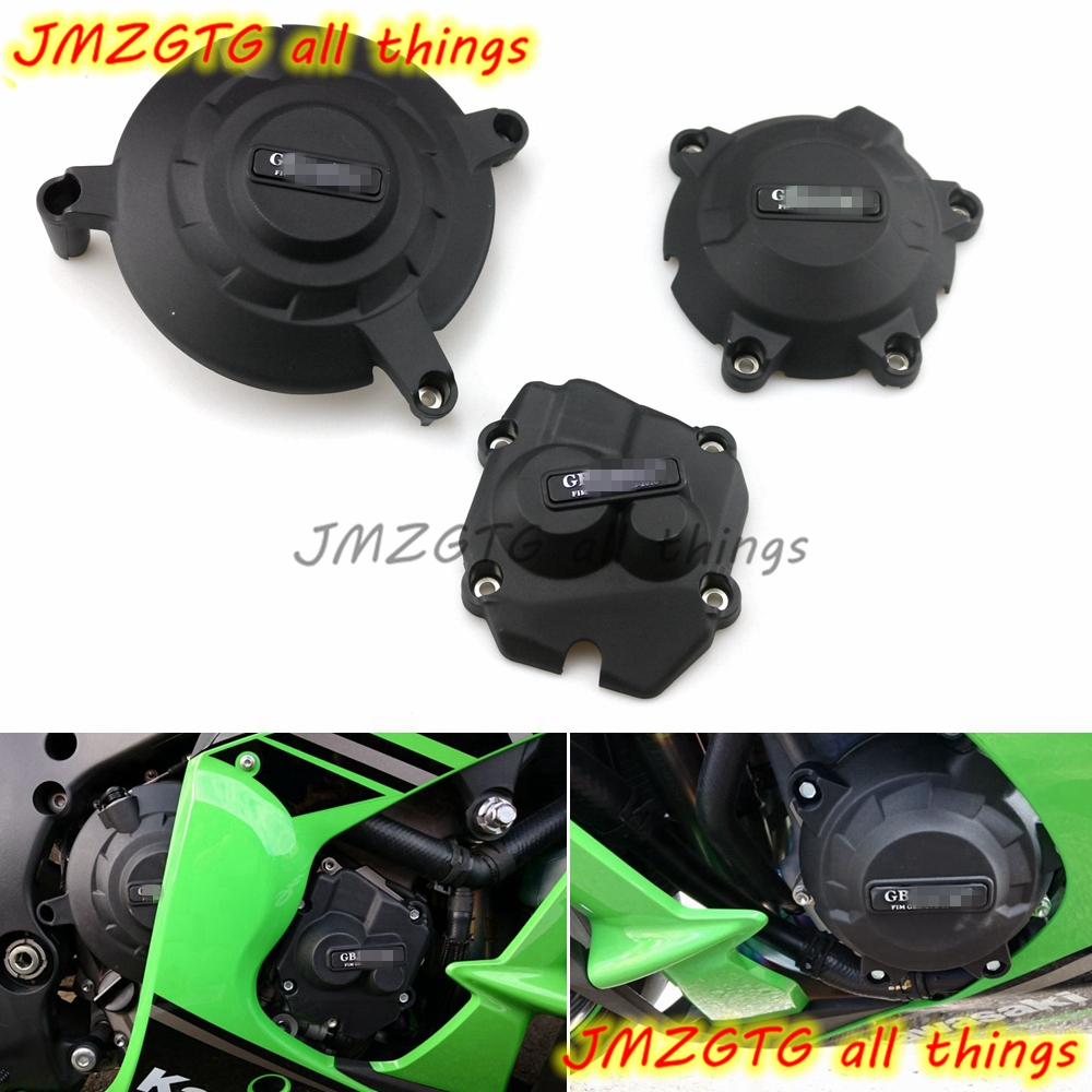 Motorcycles Engine cover Protection case for case GB Racing For KAWASAKI ZX10R 2011 2012 2013 2014 2015 2016 2017 2018 2019 image