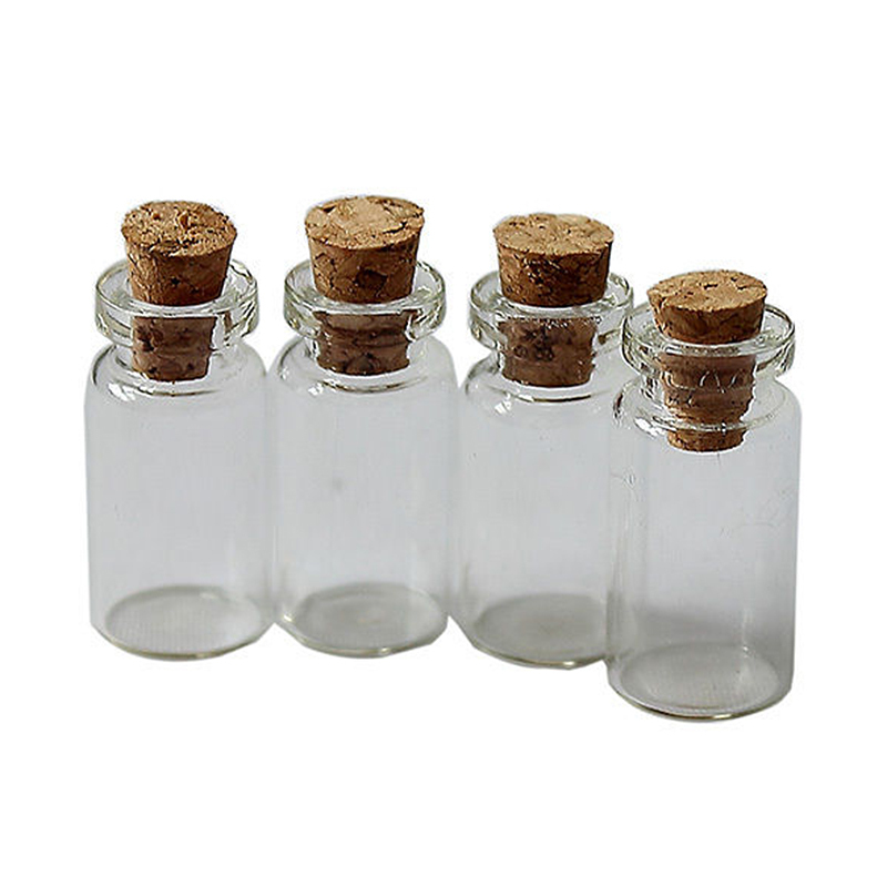 tienda online 10 unids corcho tapones vidrio botellas frascos contenedor size24x12mm ygfo zh210 aliexpress mvil - Frascos De Cristal