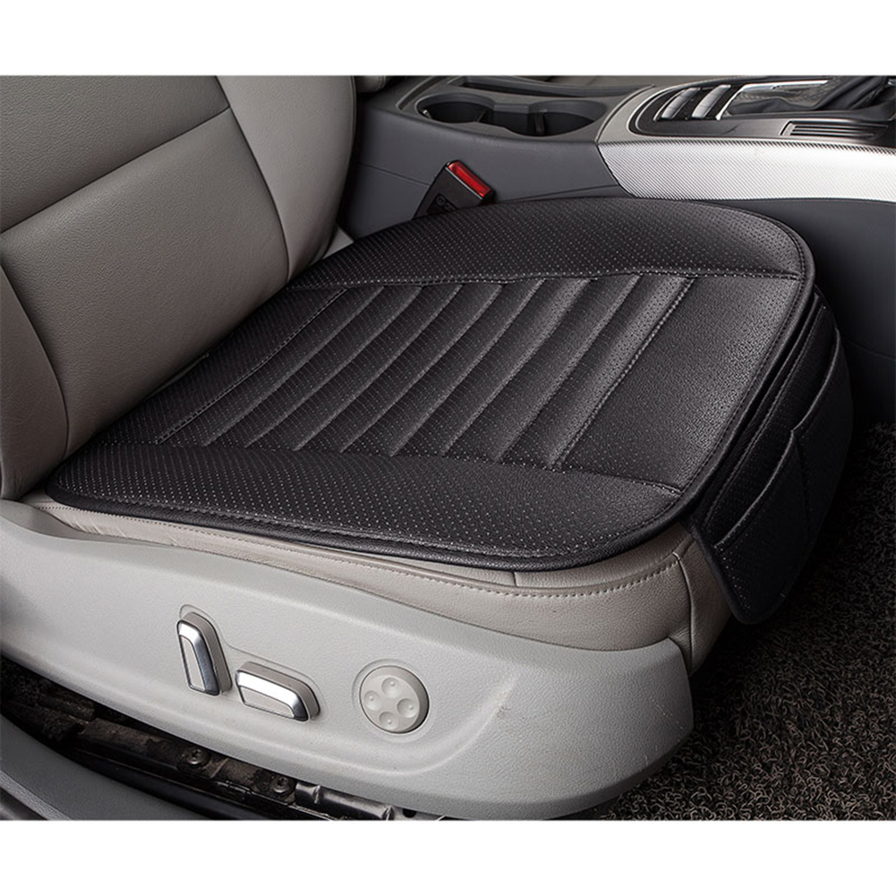 купить Ventilated Car Seat Cushion Car Chair Pad Full Surround Auto Seat Covers 4 Seasons Bamboo Charcoal Seat Mat Cover Car-Styling по цене 643.76 рублей
