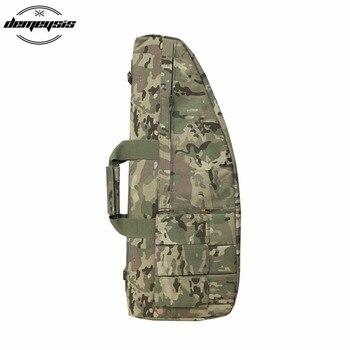70 см, 95 см, 118 см чехол для хранения винтовки рюкзак сумка для оружия цвета хаки с плечевой ремень с подкладкой и мешками