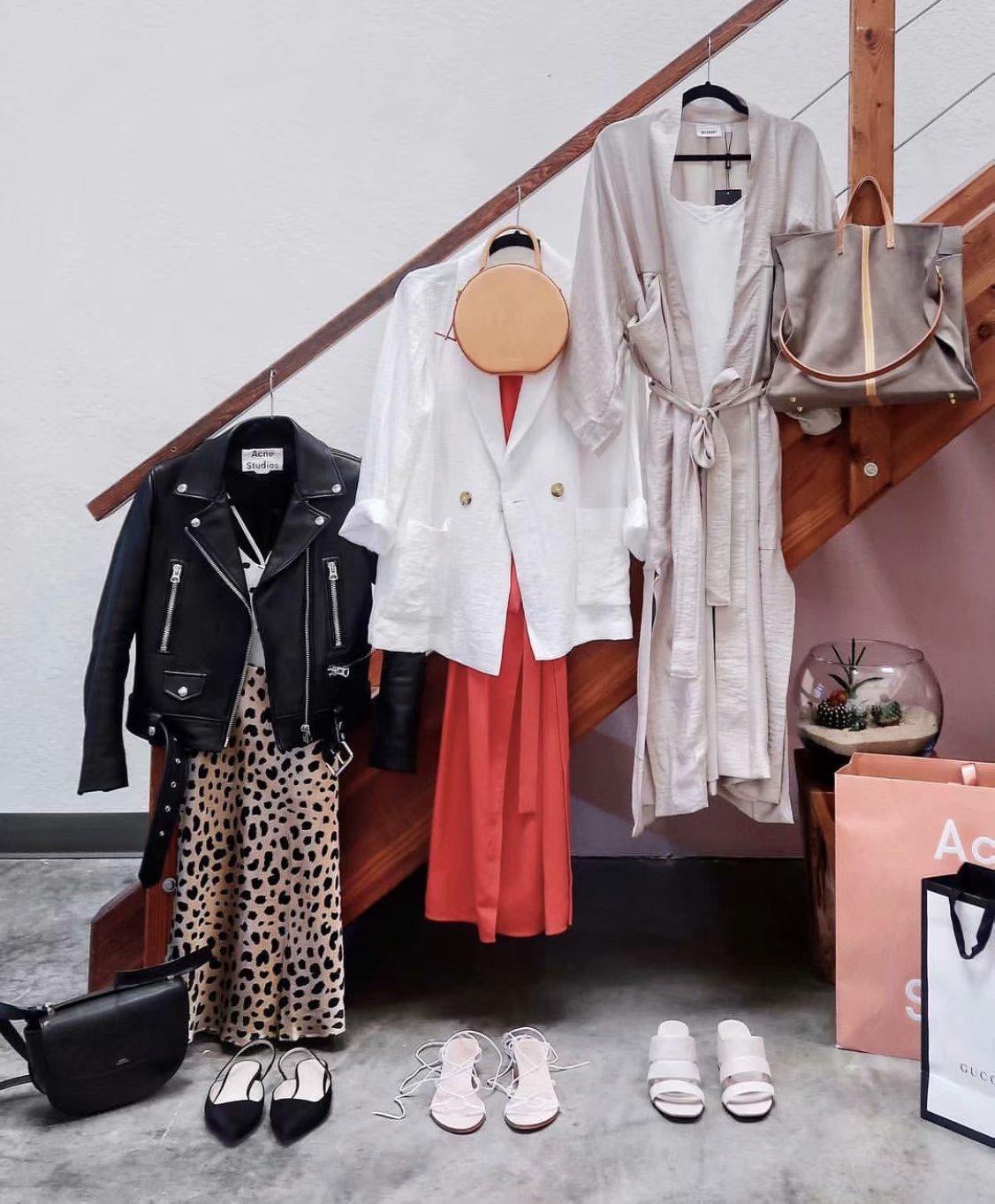 Summer 19 kawaii boho bodycon leopard print high waist skirts womens midi leopard skirt punk streetwear korean style 4