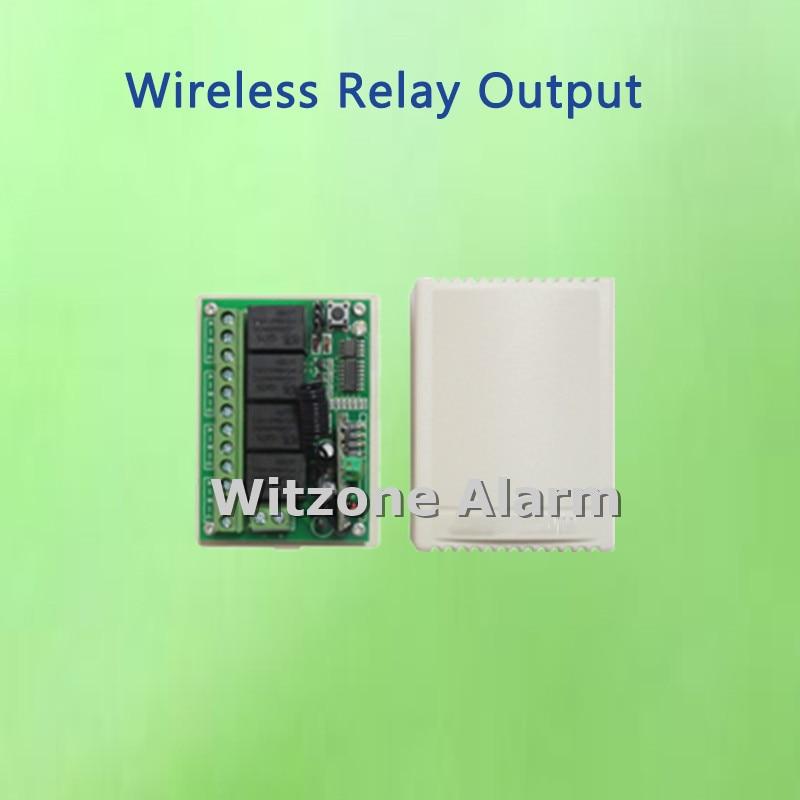 bilder für Drahtlose 4CH relaisausgang steuer haushaltsgerät für G90B smart wifi gsm alarm sicherheitssystem