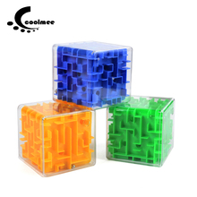 Coolmee 3D Maze Magic Cube Puzzle Ball Toys Cubos Magicos Puzzles Maze Ball Games Toy Educational Toys For Children Adults