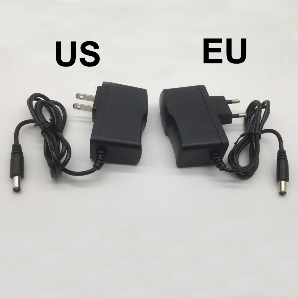 Image 4 - 1 pcs 100 240V AC to DC Power Adapter for Charger 3V 4.5V 5V 6V 7.5V 9V 12V 0.5A 1A 2A 3A EU US plug 5.5 mm x 2.1 mm-in Lighting Transformers from Lights & Lighting