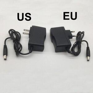 Image 3 - Adaptador de corriente de 100 240V CA a CC para cargador de 3V, 4,5 V, 5V, 6V, 7,5 V, 9V, 12V, 0,5 a, 1A, 2A, 3A, enchufe europeo y estadounidense de 5,5mm x 2,1mm 1 Uds.