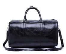2017 neue mode echte leater reisetasche kostenloser versand