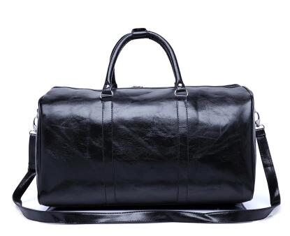 2017 new fashion genuine leater travel bag free shipping