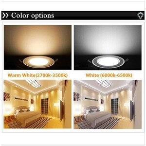 Image 5 - 3ワット5ワット7ワット9ワット防曇ledダウンライトac85 265v ledシーリングランプ凹型スポットライトダウンライト、家庭用照明